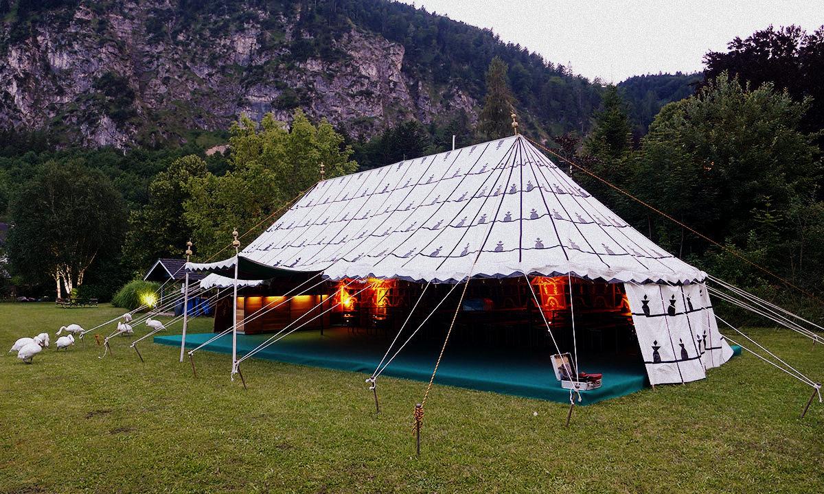 Marokanische Zelte